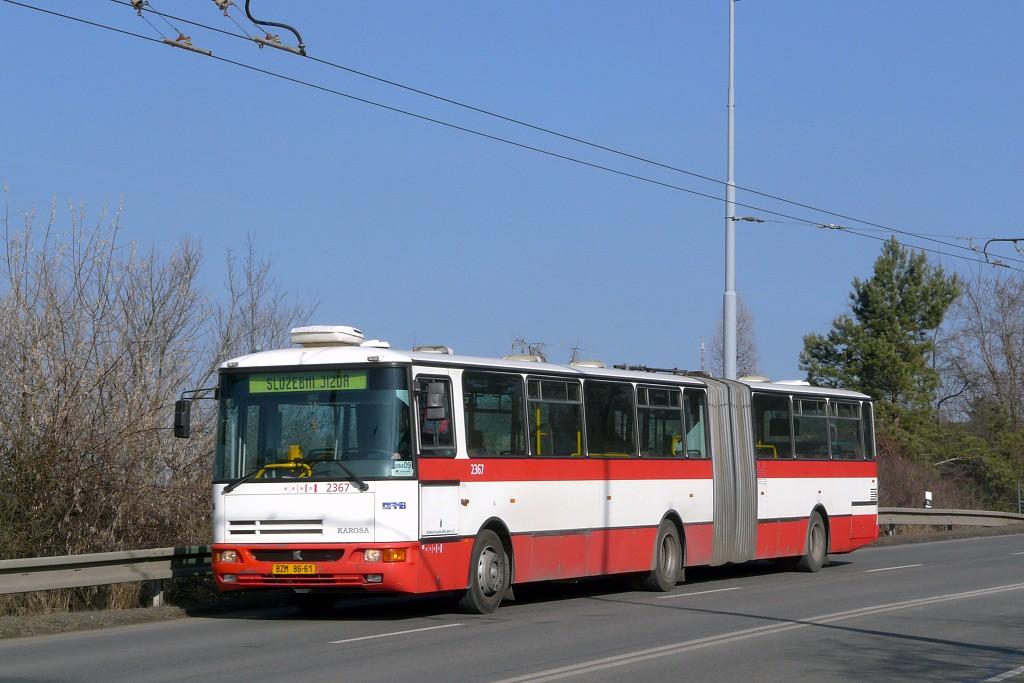 Fotogalerie » Karosa B961.1970 BZM 86-61 2367 | Brno | Židenice | Rokytova