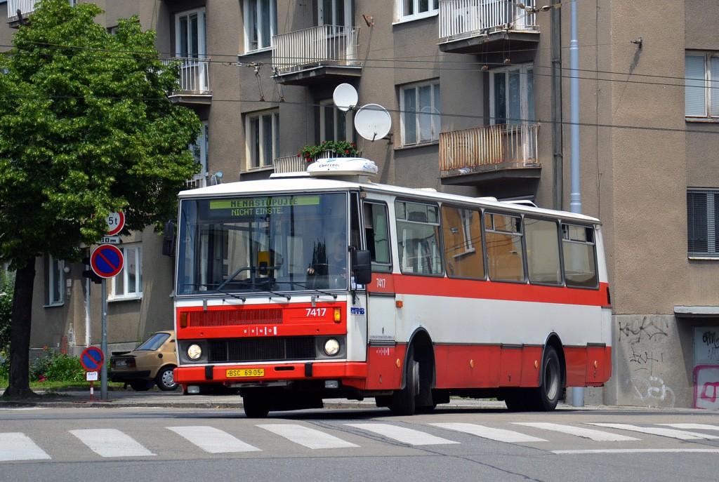 Fotogalerie » Karosa B731.1669 BSC 69-05 7417   Brno   Černá Pole   Provazníkova x Jugoslávská