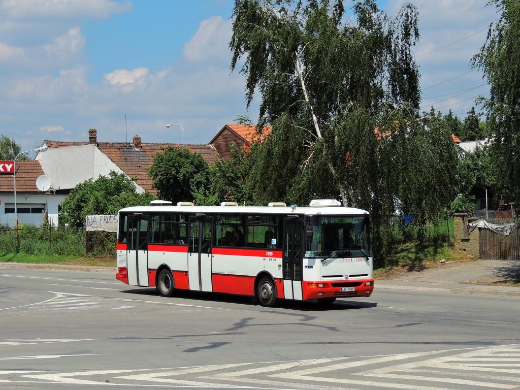 Fotogalerie » Karosa B951E.1713 4B4 5965 7490 | Brno | Černovice | Faměrovo náměstí