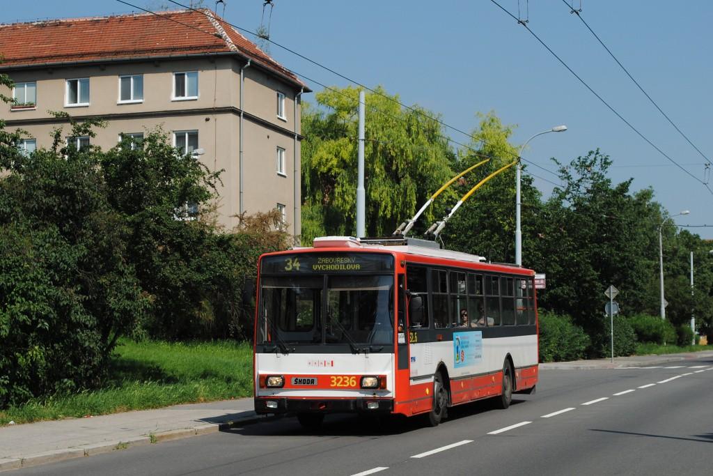 Fotogalerie » Škoda 14Tr10/6 3236 | Brno | Žabovřesky | Zborovská