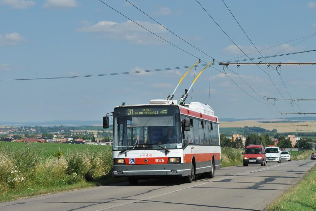 Fotogalerie » Škoda 21Tr 3026 | Šlapanice | Brněnská
