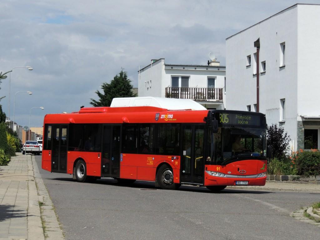 Fotogalerie » Solaris Urbino 12 III CNG 9B2 7745 91   Přímětice   Dlouhá