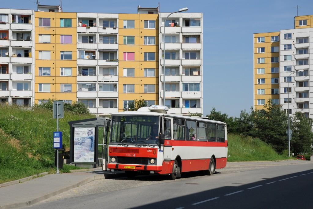 Fotogalerie » Karosa B732.1654.3 BSC 38-96 7393 | Brno | Bystrc | Říčanská | Kavčí