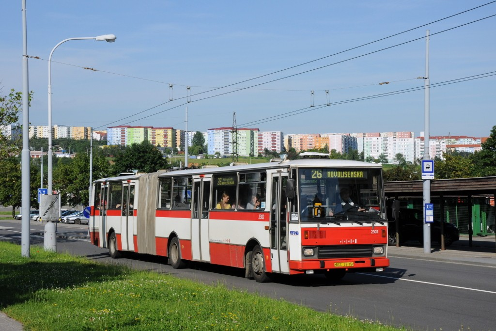 Fotogalerie » Karosa B741.1916 BSC 29-15 2302 | Brno | Vinohrady | Bzenecká