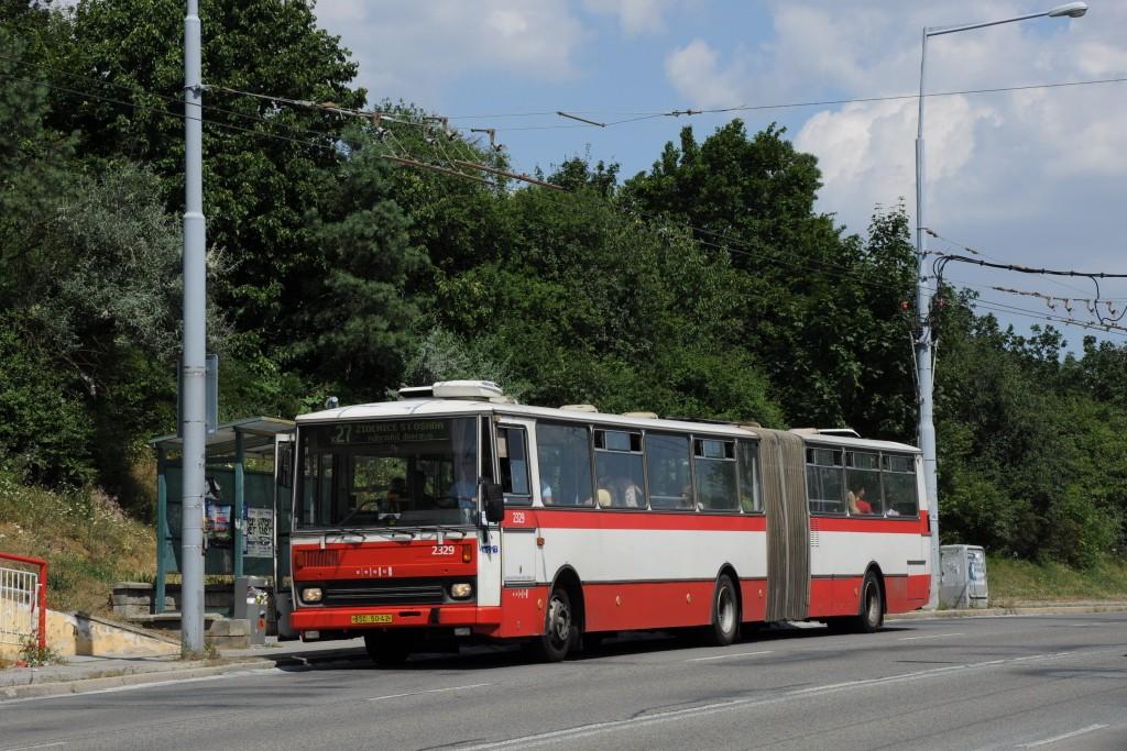 Fotogalerie » Karosa B741.1924 BSC 50-42 2329 | Brno | Vinohrady | Žarošická | Vlčnovská