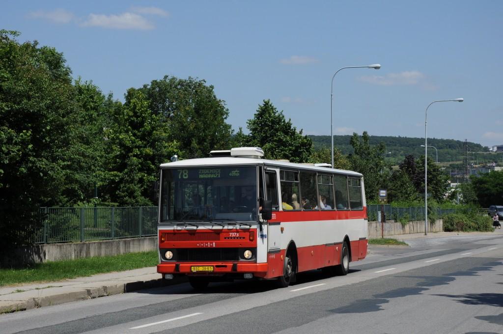 Fotogalerie » Karosa B732.1654.3 BSC 38-61 7373 | Brno | Líšeň | Křtinská | Malá Klajdovka
