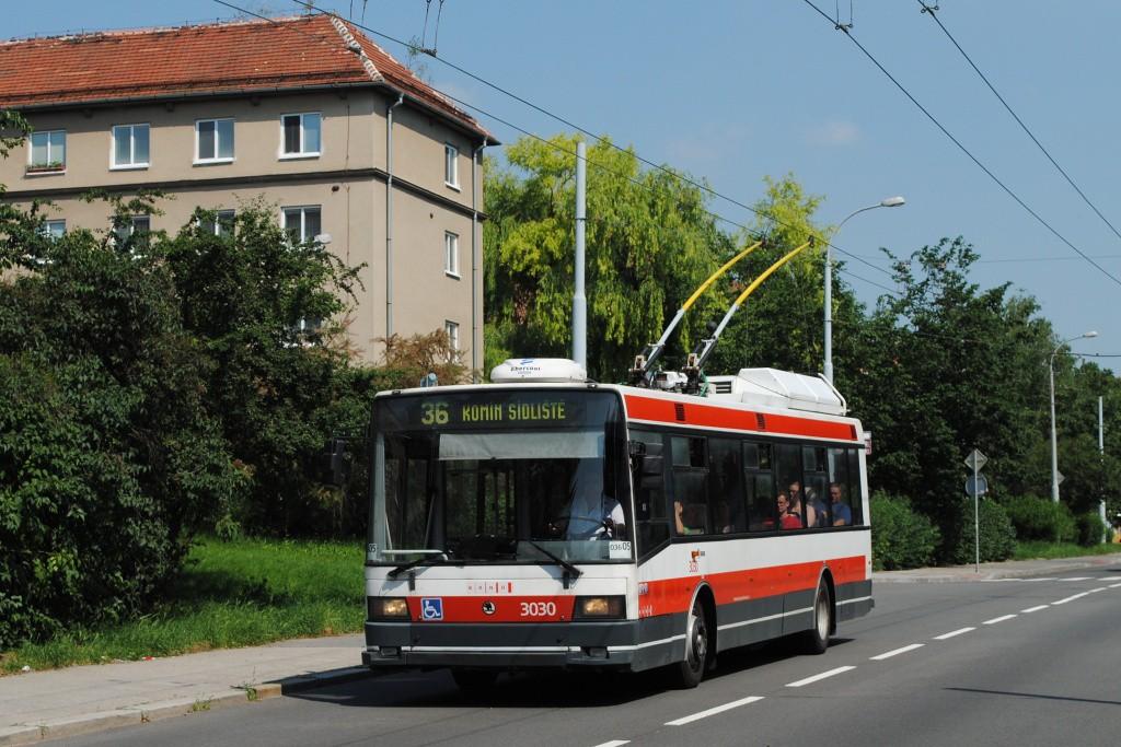 Fotogalerie » Škoda 21Tr 3030 | Brno | Žabovřesky | Zborovská