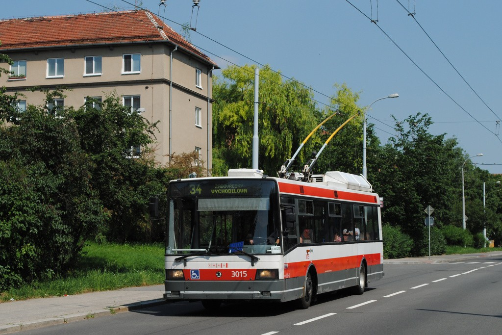 Fotogalerie » Škoda 21Tr 3015 | Brno | Žabovřesky | Zborovská