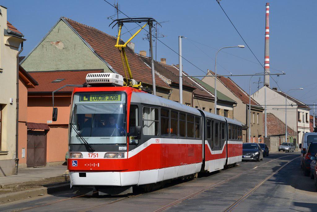 Fotogalerie » Pars Nova K3R-N 1751 | Brno | Husovice | Valchařská