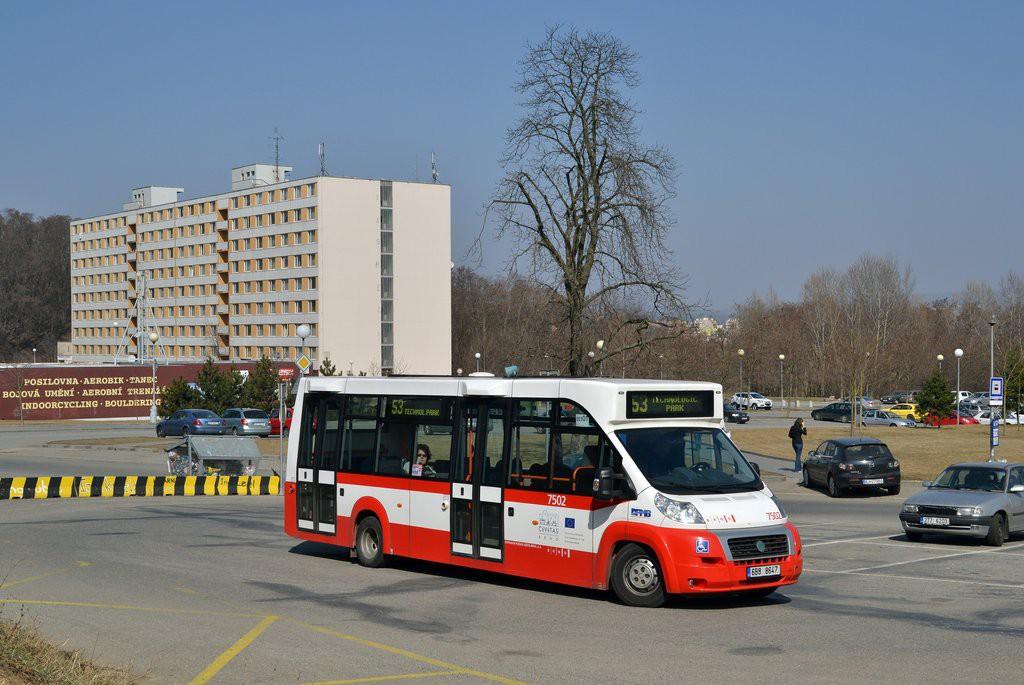 Fotogalerie » MAVE-Fiat CiBus ENA MAXI 6B8 8647 7502 | Brno | Královo Pole | Kolejní | Kolejní