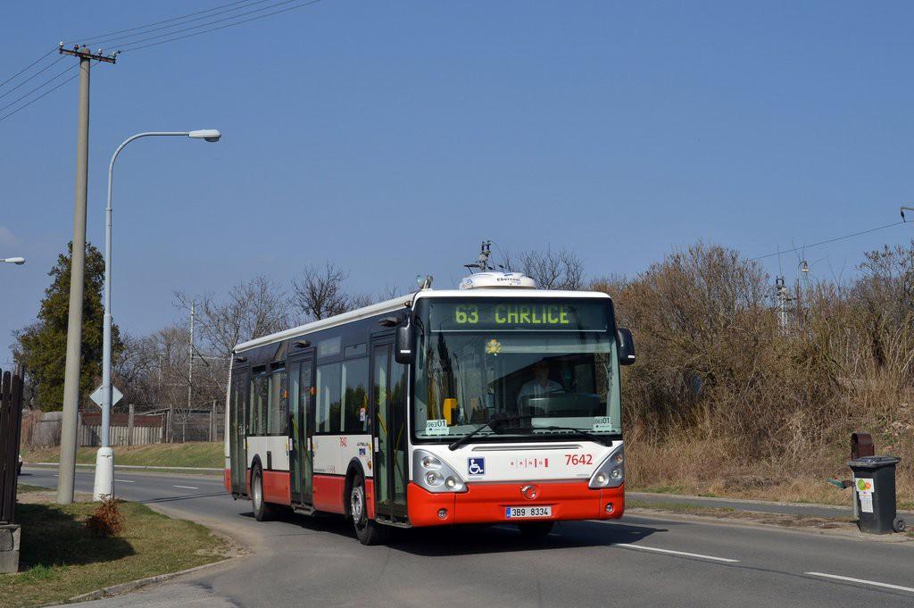 Fotogalerie » Irisbus Citelis 12M 3B9 8334 7642 | Brno | Chrlice | Rebešovická