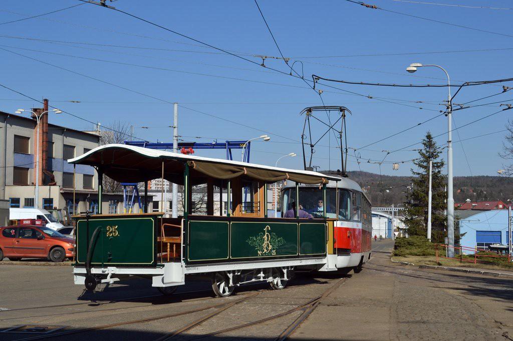 Fotogalerie » Graz / Ödenburg vp1 25 | ČKD Tatra T3M 1594 | Brno | vozovna Medlánky