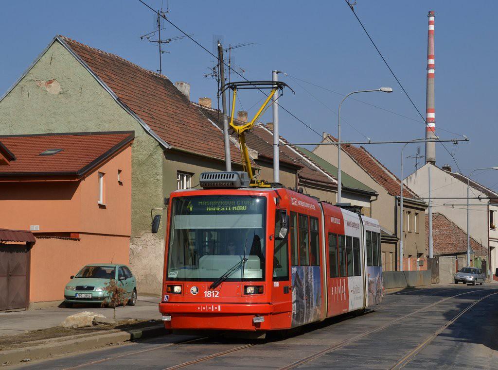 Fotogalerie » Škoda 03T6 1812 | Brno | Husovice | Valchařská