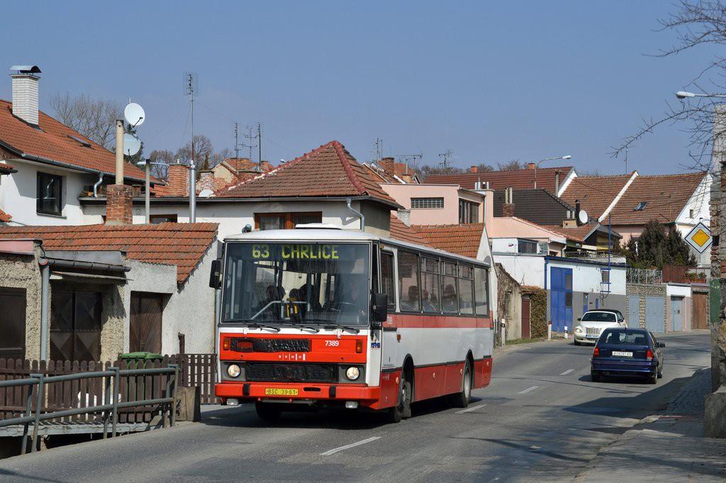 Fotogalerie » Karosa B732.1654.3 BSC 39-61 7389 | Brno | Chrlice | U Viaduktu