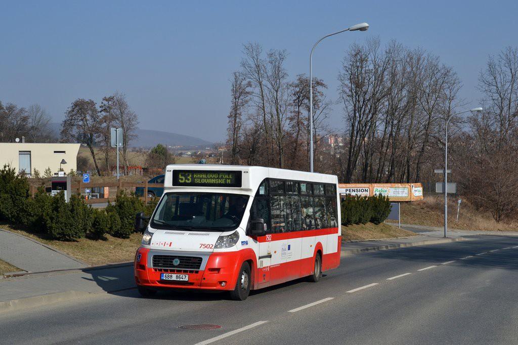 Fotogalerie » MAVE-Fiat CiBus ENA MAXI 6B8 8647 7502 | Brno | Královo Pole | Podnikatelská | Podnikatelská