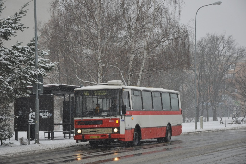 Fotogalerie » Karosa B731.1669 BSC 69-06 7418 | Brno | Lesná | Seifertova | Brechtova