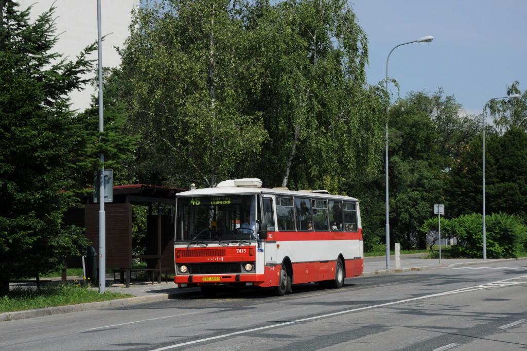 Fotogalerie » Karosa B731.1669 BSC 69-01 7413 | Brno | Lesná | Seifertova | Brechtova