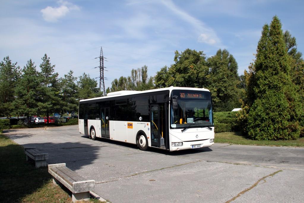 Fotogalerie » Irisbus Crossway LE 12.8M 8B2 9680 | Břeclav | Poštorná | Hraniční | Fosfa