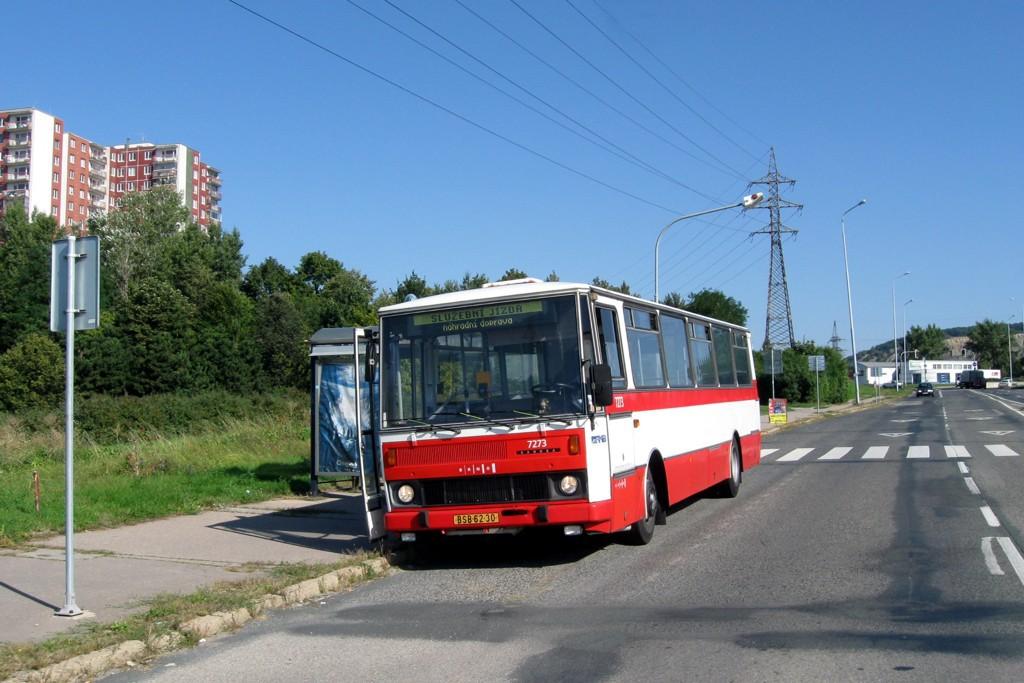 Fotogalerie » Karosa B732.40 BSB 62-30 7273 | Brno | Líšeň | Jedovnická | Růženin dvůr