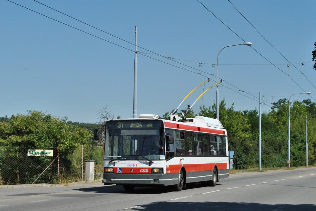 Fotogalerie » Škoda 21Tr 3026 | Brno | Černovice | Olomoucká