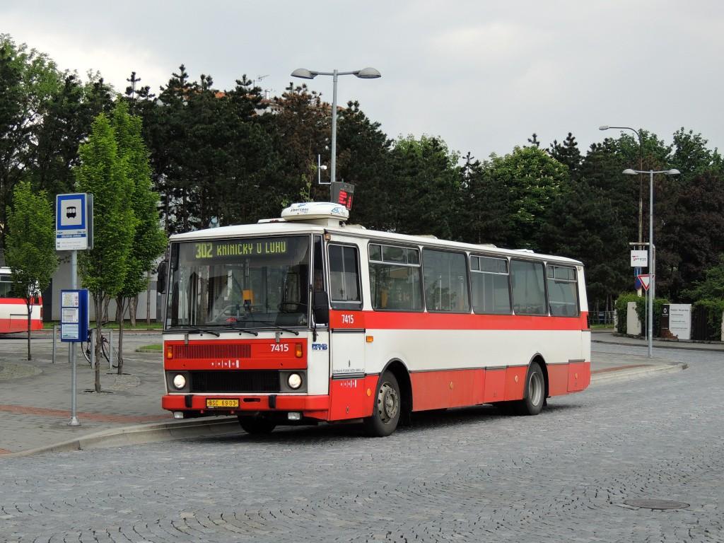 Fotogalerie » Karosa B731.1669 BSC 69-03 7415 | Brno | Bystrc | Zoologická zahrada, smyčka