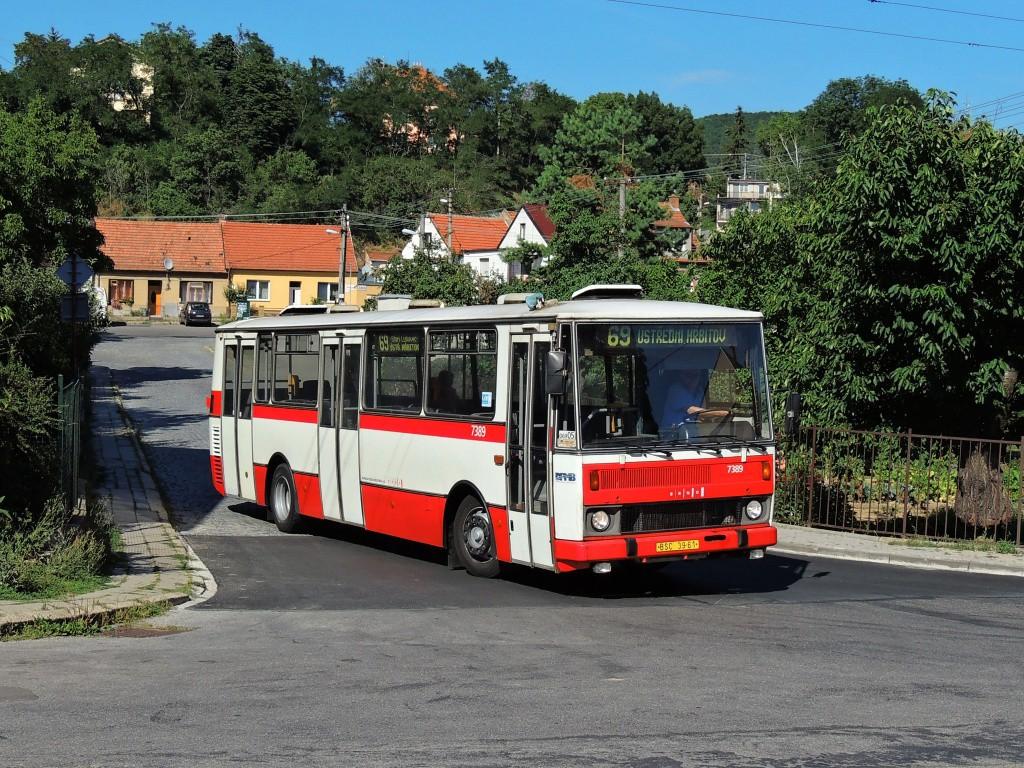 Fotogalerie » Karosa B732.1654.3 BSC 39-61 7389 | Brno | Bosonohy | U smyčky