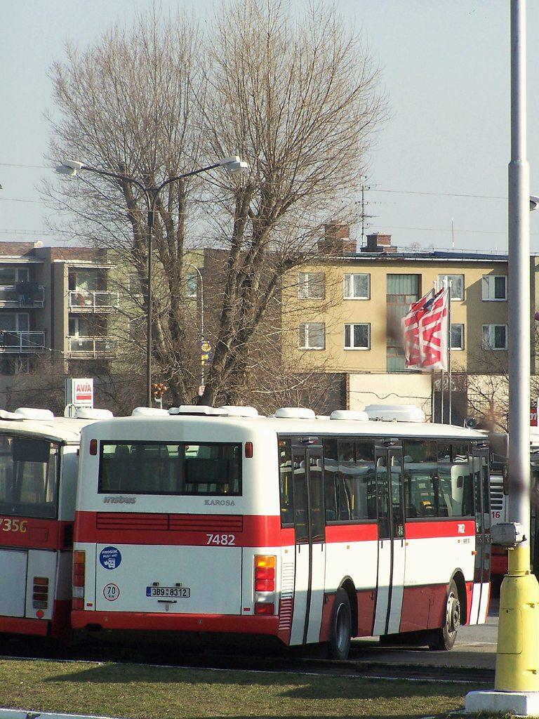 Fotogalerie » Karosa B951E.1713 7482   Brno   Vozovna Slatina