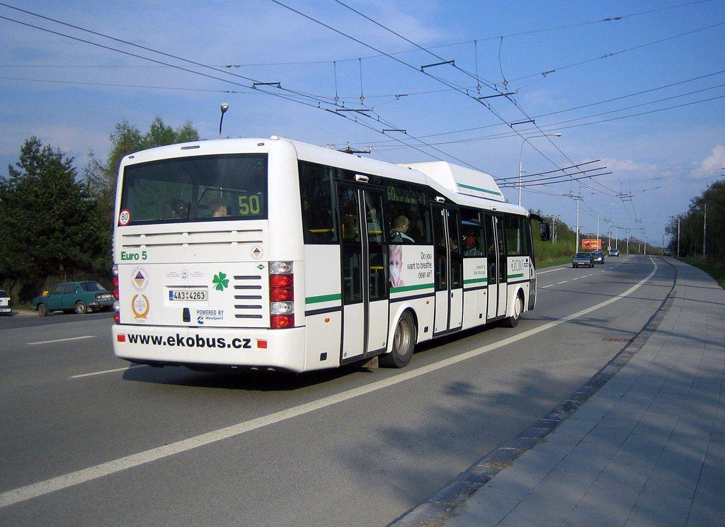 Fotogalerie » SOR Ekobus City Plus 4A3 4263 2699 | Brno | Kohoutovice | Libušina třída | Jírovcova