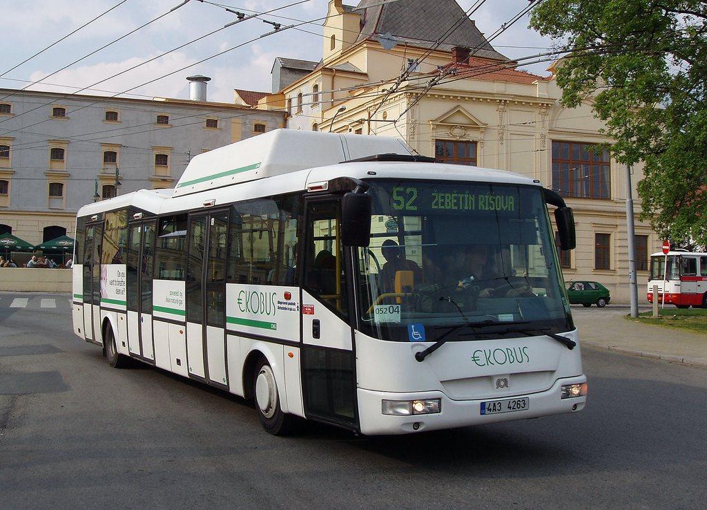 Fotogalerie » SOR Ekobus City Plus 4A3 4263 2699   Brno   Staré Brno   Mendlovo náměstí