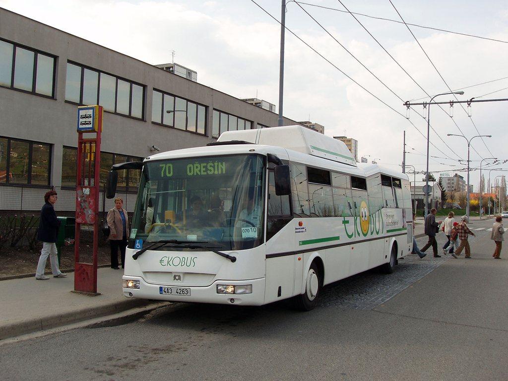 Fotogalerie » SOR Ekobus City Plus 4A3 4263 2699 | Brno | Královo Pole | Budovcova | Královo Pole, nádraží