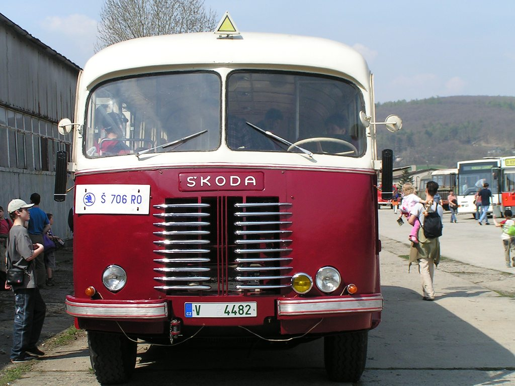 Fotogalerie » Karosa Škoda 706 RO 22 | Karosa Karosa B40 48 | Brno | TMB Řečkovice