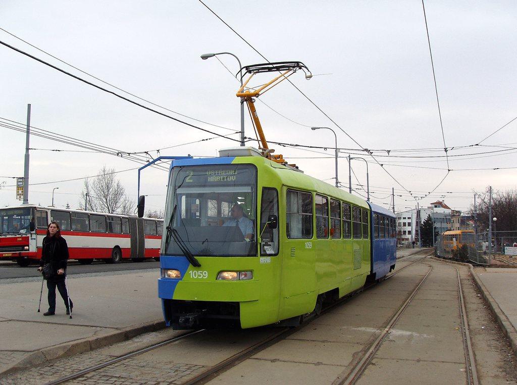 Fotogalerie » ČKD Tatra K2R03 1059 | Brno | Židenice | Stará Osada