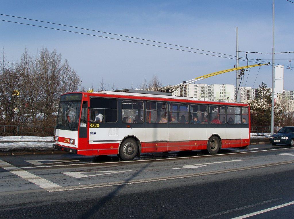 Fotogalerie » Škoda 14TrR 3220   Brno   Líšeň   Novolíšeňská