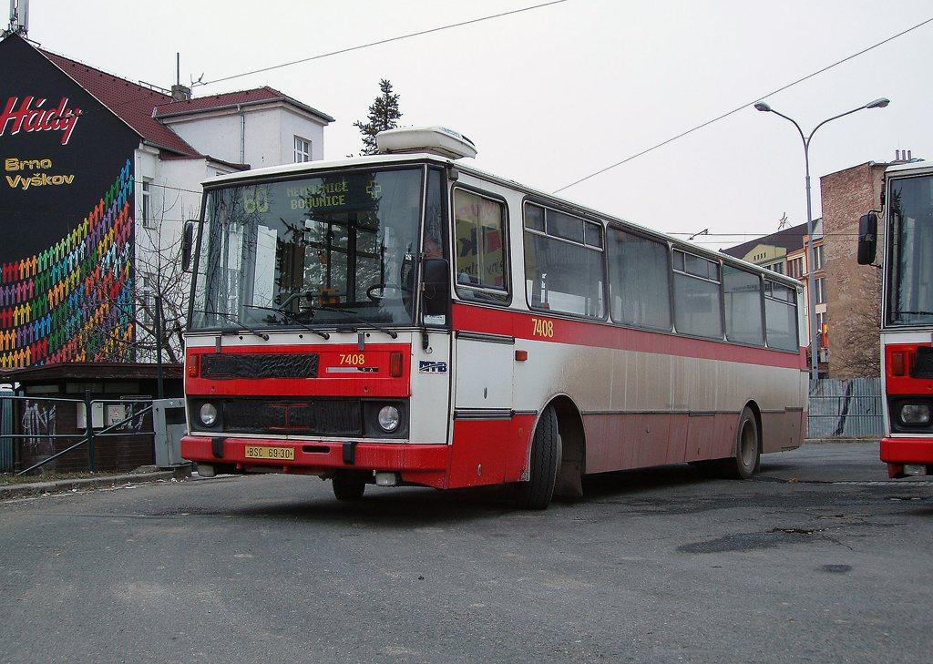 Fotogalerie » Karosa B731.1669 7408   Brno   střed   Zvonařka