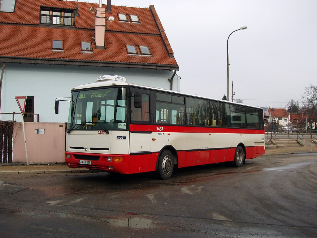 Fotogalerie » Karosa B951E.1713 7487 | Brno | Bystrc | náměstí 28. dubna | Zoologická zahrada