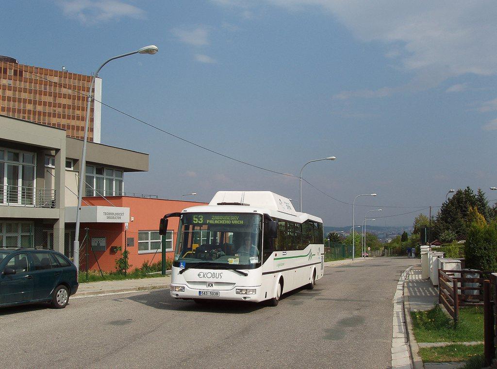 Fotogalerie » SOR Ekobus City Plus 5A3 5038 2699 | Brno | Žabovřesky | U vodárny