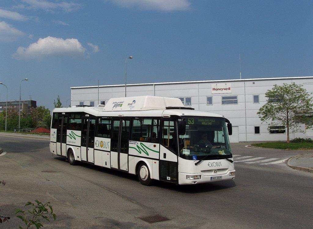 Fotogalerie » SOR Ekobus City Plus 5A3 5038 2699   Brno   Žabovřesky   U vodárny