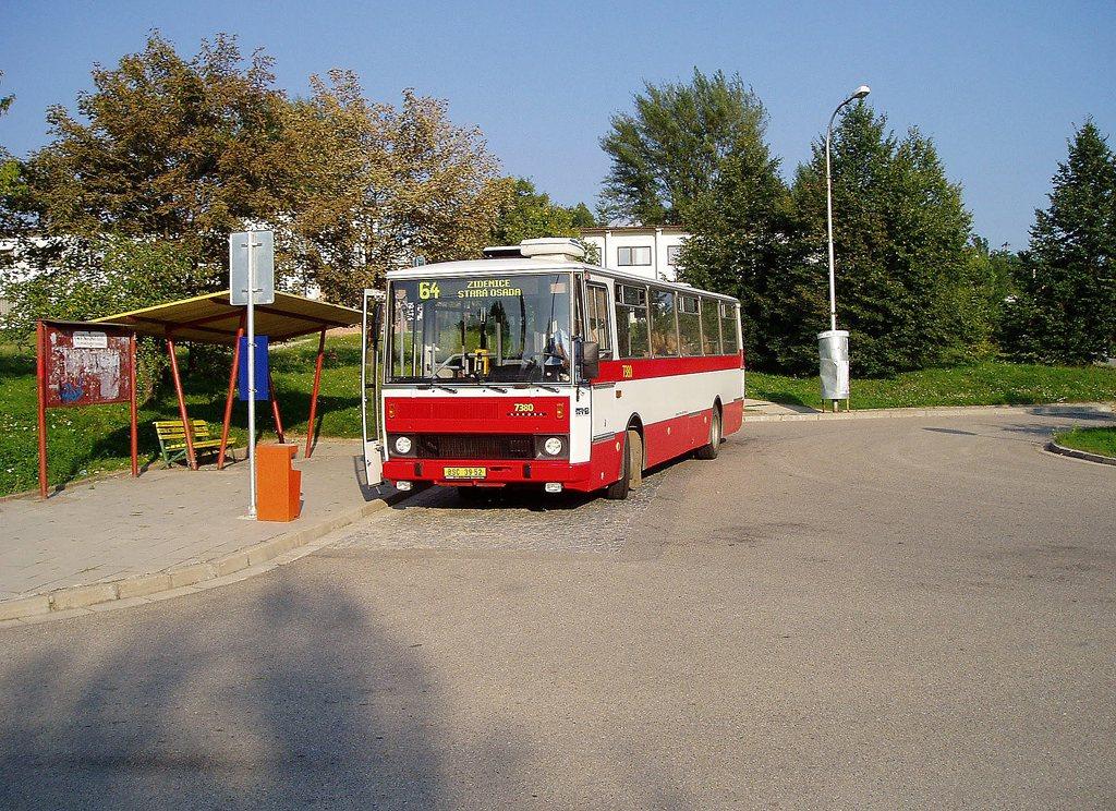 Fotogalerie » Karosa B732.1654.3 7380   Brno   Maloměřice   Podzimní