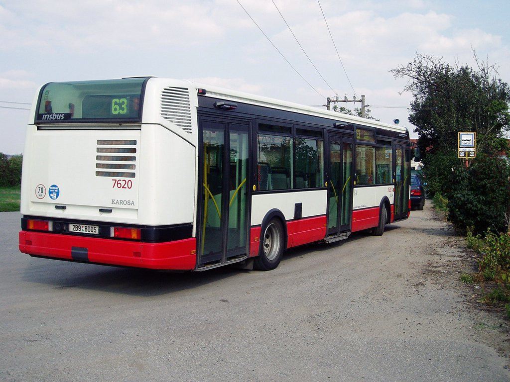 Fotogalerie » Irisbus Citybus 12M 2071.40 7620 | Modřice | U Jezu | Dvůr v Lese
