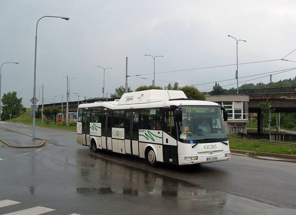 Fotogalerie » SOR Ekobus City Plus 5A3 5038 2699   Brno   Královo Pole   Budovcova