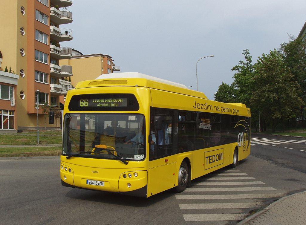 Fotogalerie » TEDOM Tedom 123 G 2J4 5970 2700 | Brno | Lesná | Okružní | Haškova