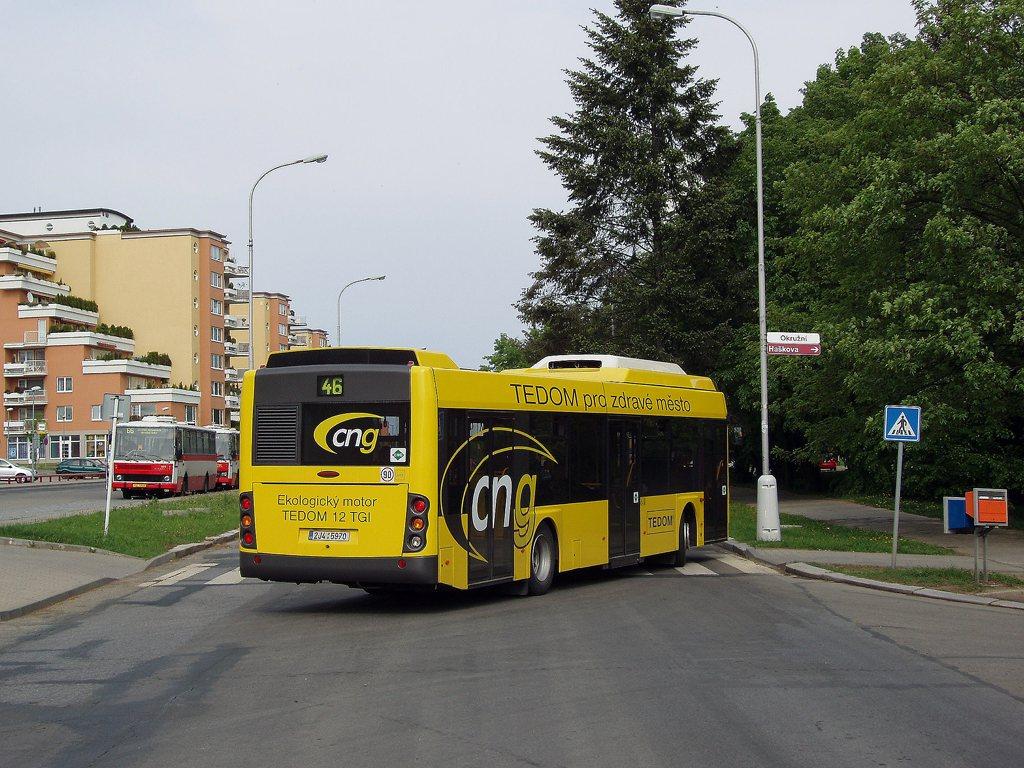 Fotogalerie » TEDOM Tedom 123 G 2J4 5970 2700 | Brno | Lesná | Okružní