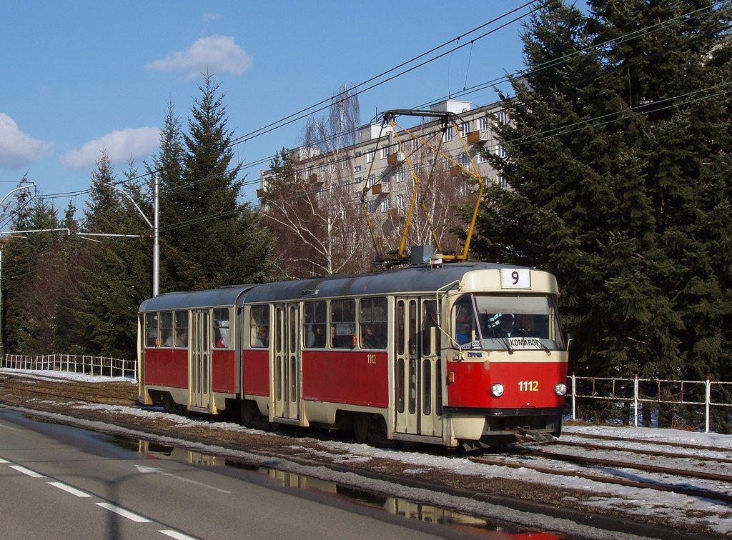 Fotogalerie » ČKD Tatra K2 1112 | Brno | Černá Pole | třída Generála Píky