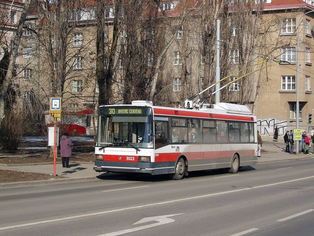 Fotogalerie » Škoda 21Tr 3022 | Brno | Žabovřesky | Skácelova | Skácelova