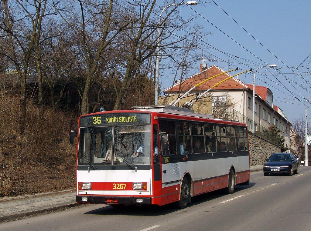Fotogalerie » Škoda 14Tr17/6M 3267 | Brno | Žabovřesky | Kroftova