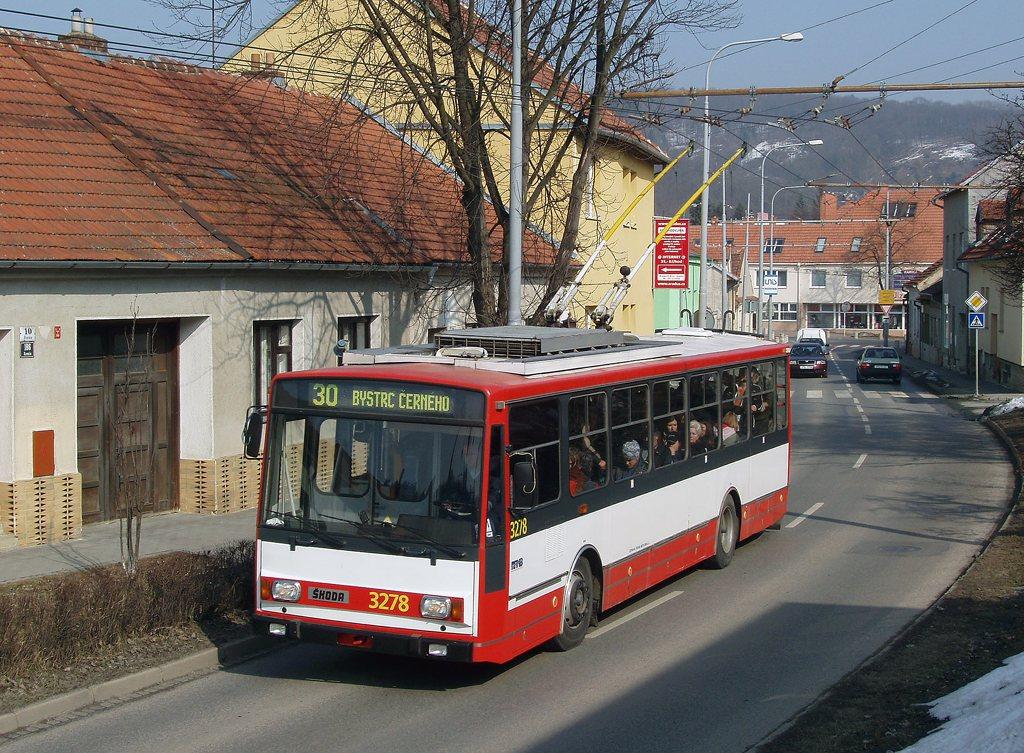 Fotogalerie » Škoda 14Tr17/6M 3278 | Brno | Komín | Branka