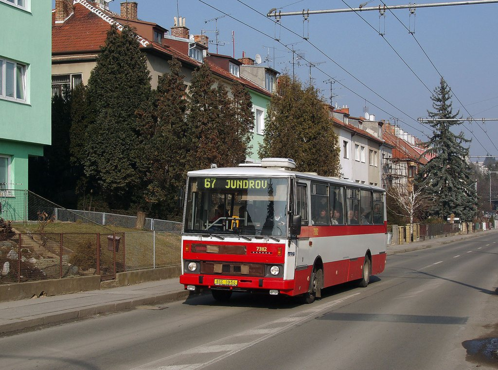 Fotogalerie » Karosa B732.1654.3 7382 | Brno | Žabovřesky | Kroftova