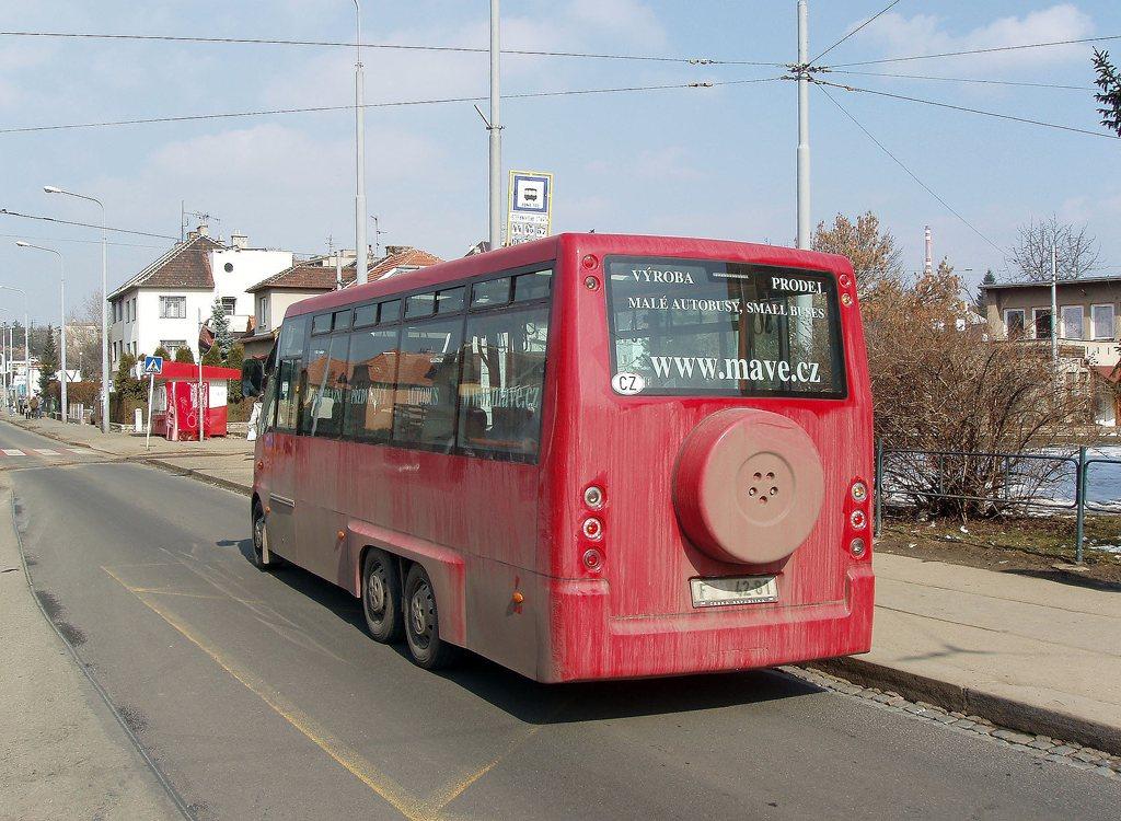 Fotogalerie » MAVE-Fiat CiBus ENA MV 55A 2Z5 5001 | Brno | Štefánikova Čtvrť | Merhautova | Štefánikova čtvrť