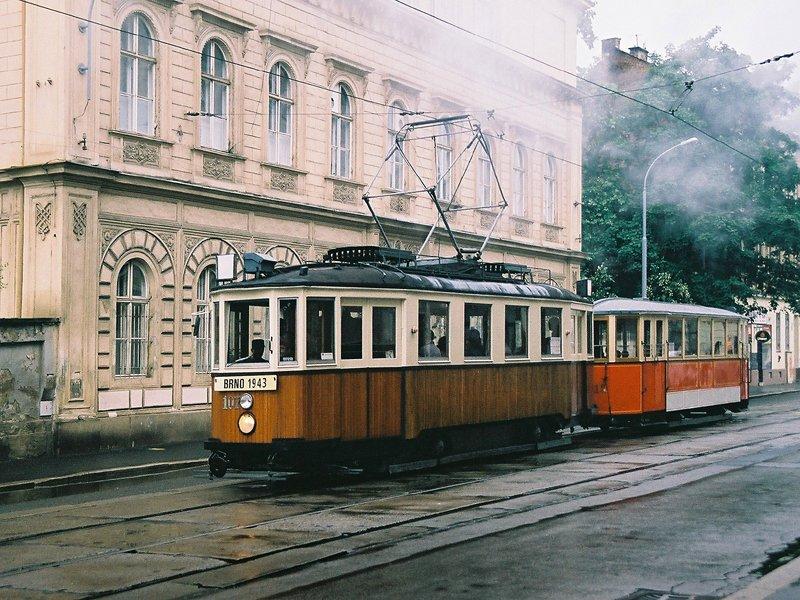 Fotogalerie » KPS Brno mv6.3 107 | Ringhoffer vv2.ringh 215 | Brno | Staré Brno | Hybešova