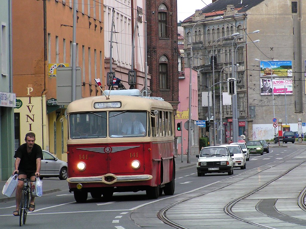 Fotogalerie » Škoda 8Tr 141   Brno   Trnitá   Křenová